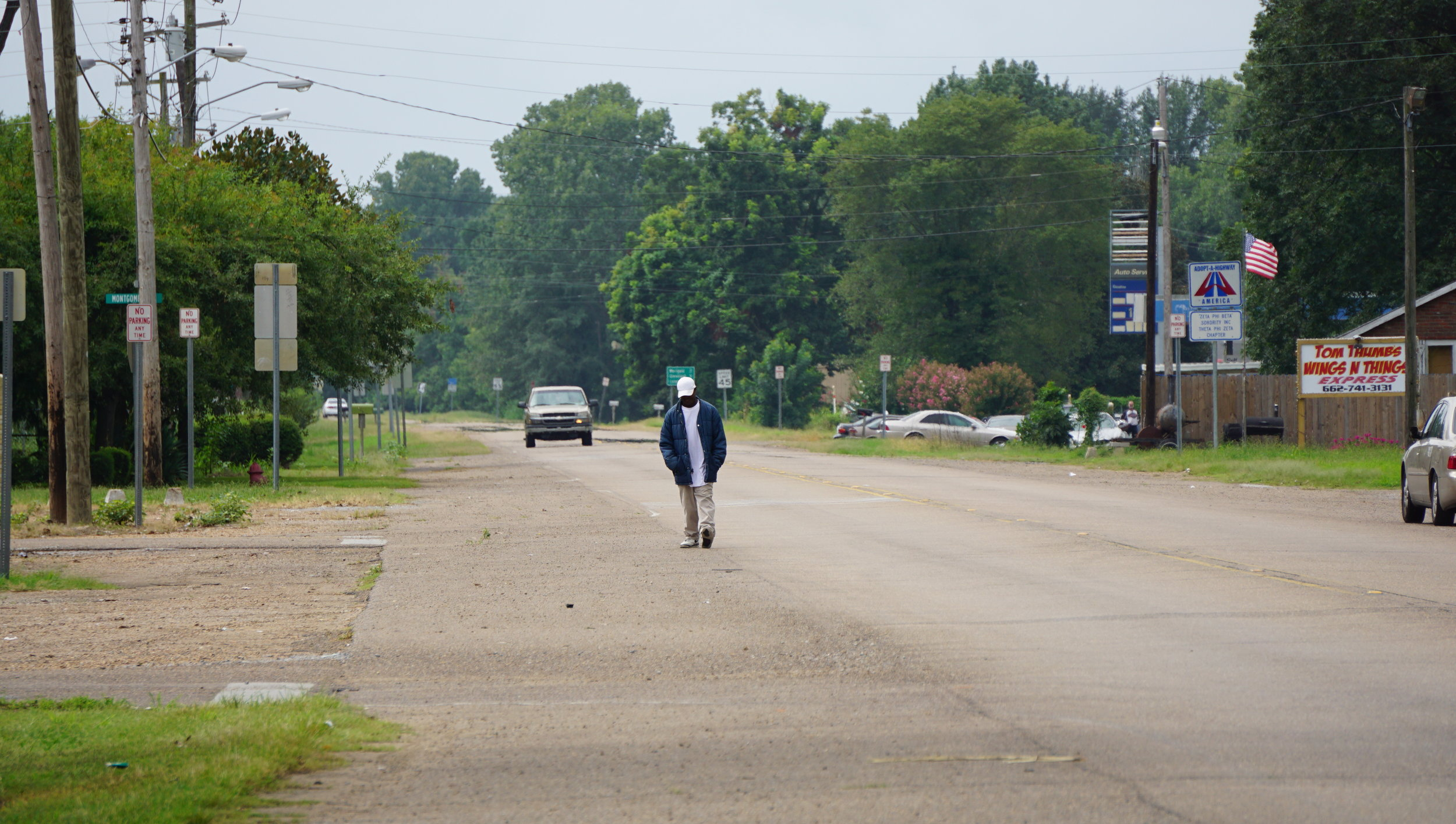 Mound Bayou, Mississippi. Photo by M.A. Caudel