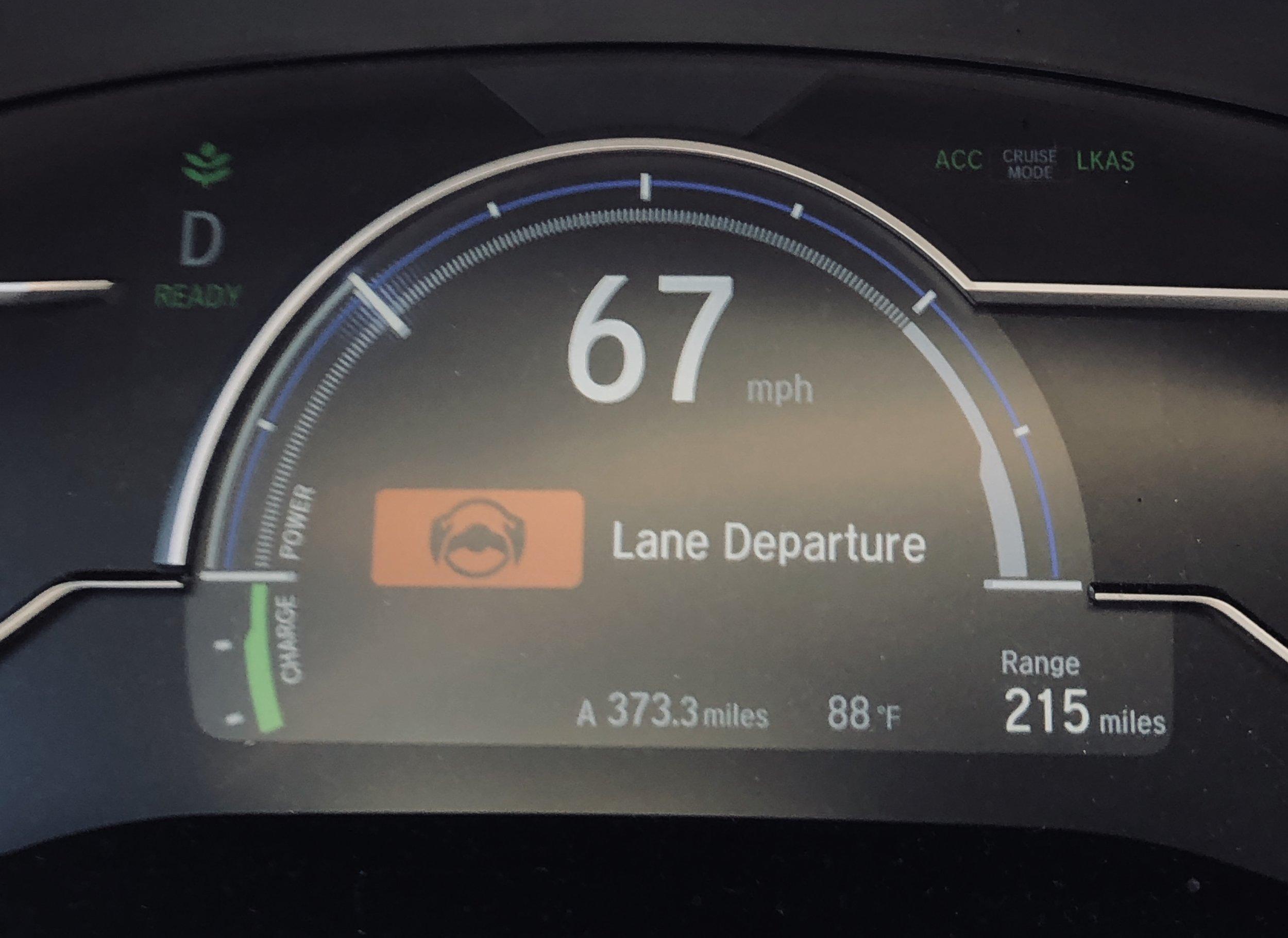 Warner: Lane Departure