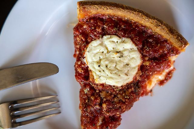 Do you remember your first deep dish? We're you in the fence or was it love at first slice? Let us know!