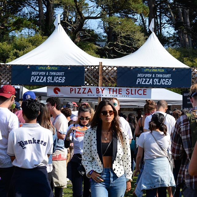 We're back again for this heat for @outsidelands 2019 to join Childish Gambino, Kacey Musgraves, Blink-182, Lil Wayne, Flying Lotus, Anderson .Paak, Flume and so many more at Golden Gate Park. Stay tuned and be sure you're following @littlestar.pizza for details about our upcoming ticket giveaway! #littlestarpizza x #olfood