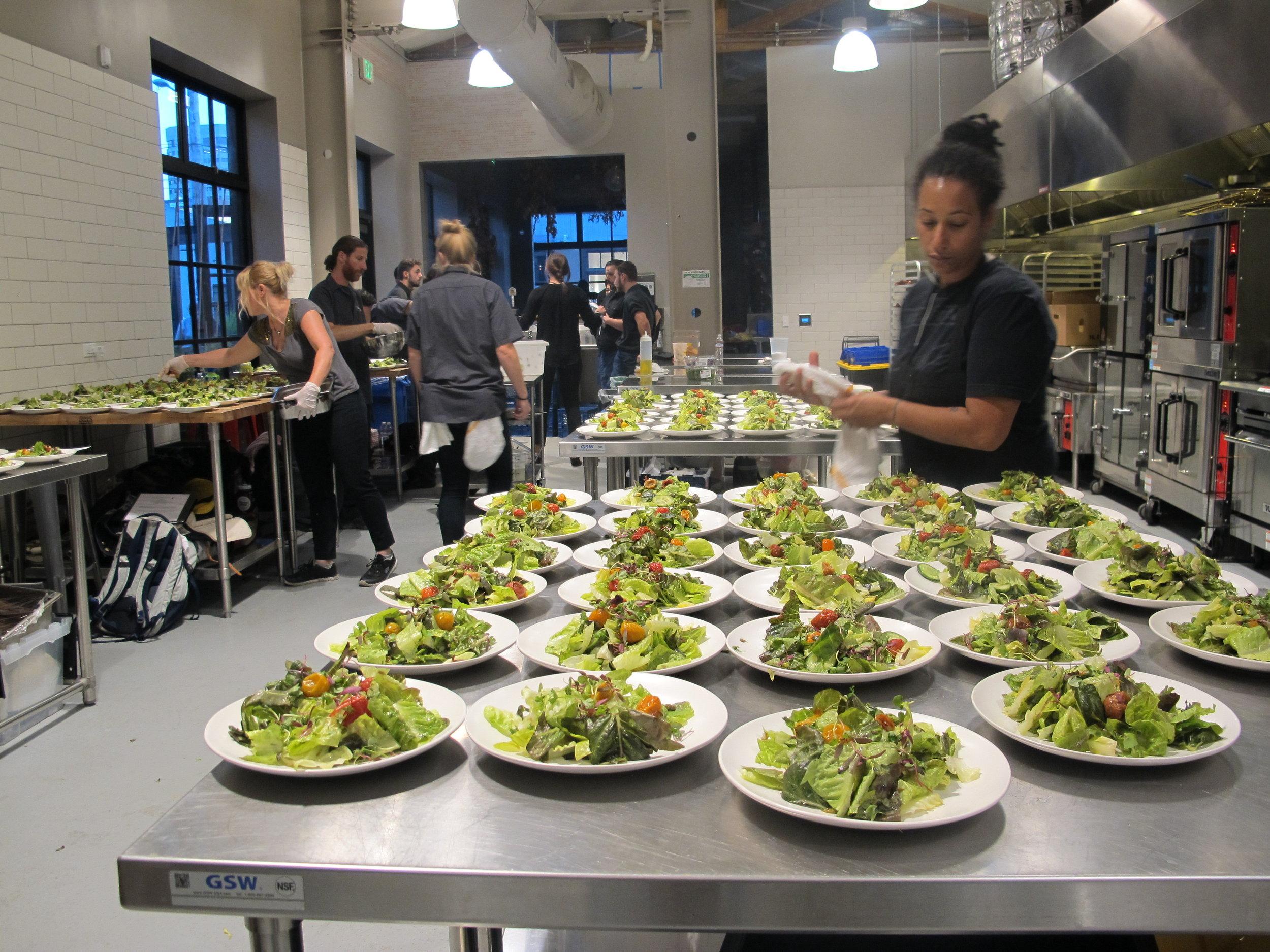Facilities Forage Kitchen Commissary Kitchen Shared