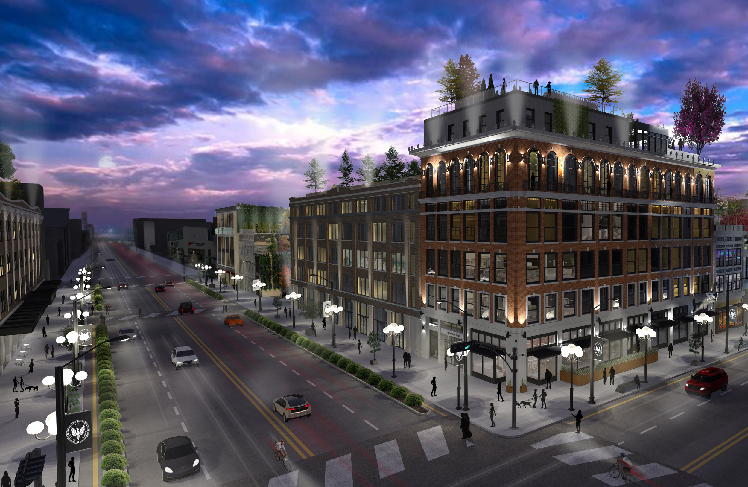 A nearly $80 million plan will redevelop 400,000 square feet across two city blocks into… more