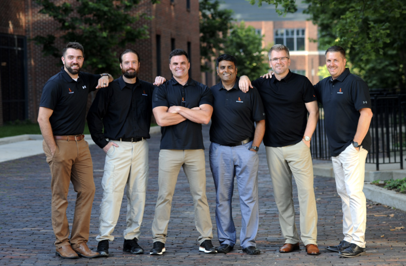 The leadership team at Windsor including Eric VanZwieten, second from the right.