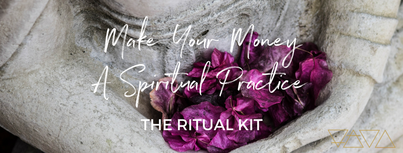 A ritual kit for falling in LOVE with your finances - all while being more kind and loving toward yourself.  Get more clarity than ever before and begin to  feel good  about money again.