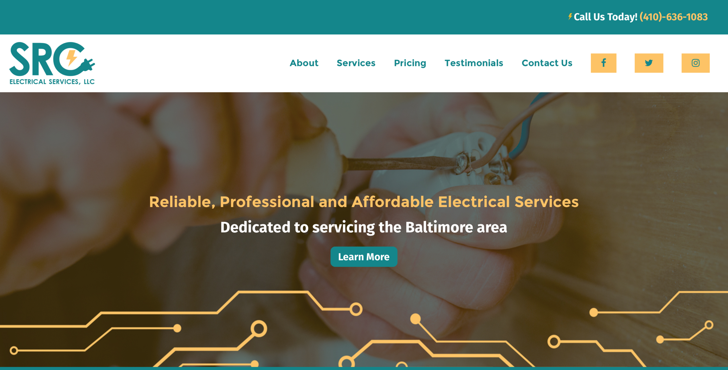 SRC ELECTRICAL SERVICES, LLC