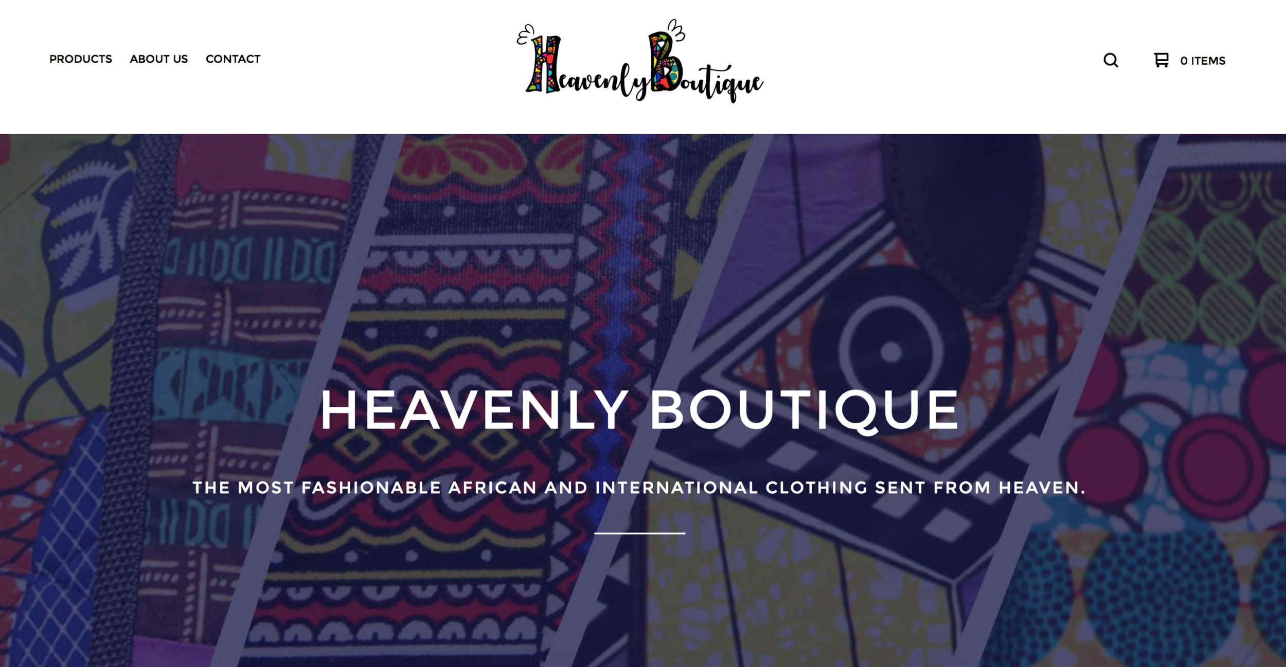 HEAVENLY BOUTIQUE RETAIL