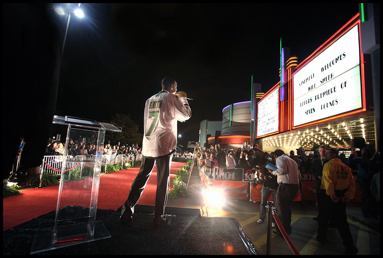 Seven Pounds Red Carpet Dallas Premiere