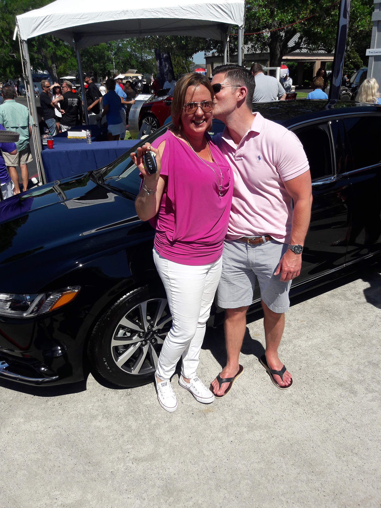 The Lincoln Motor Company Keels & Wheels Event