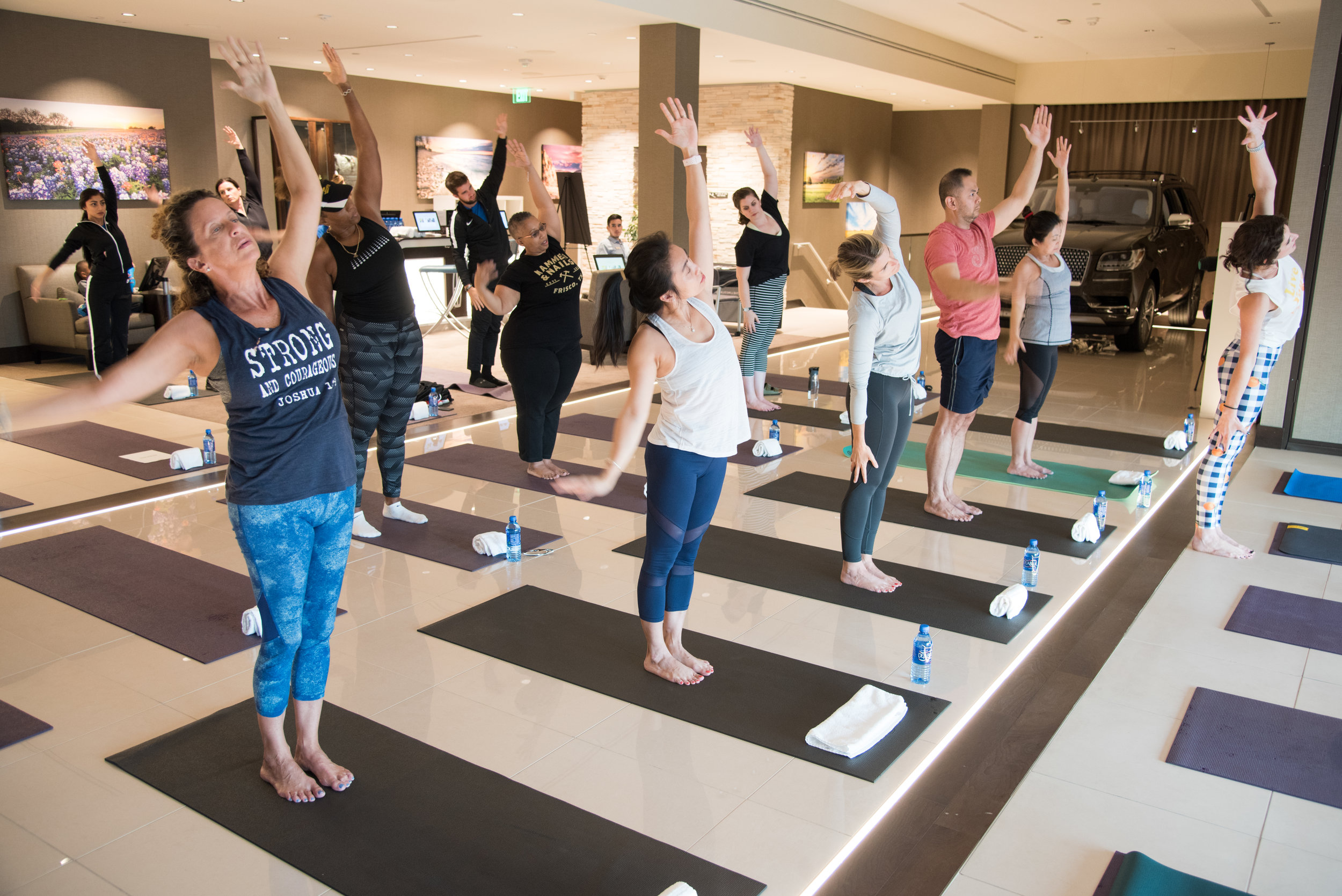Yoga at The Star Tastemaker Event