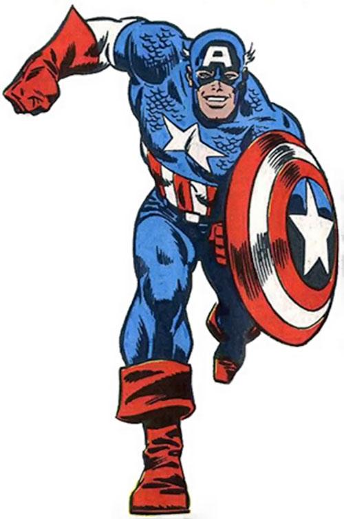 Captain America circa 1980