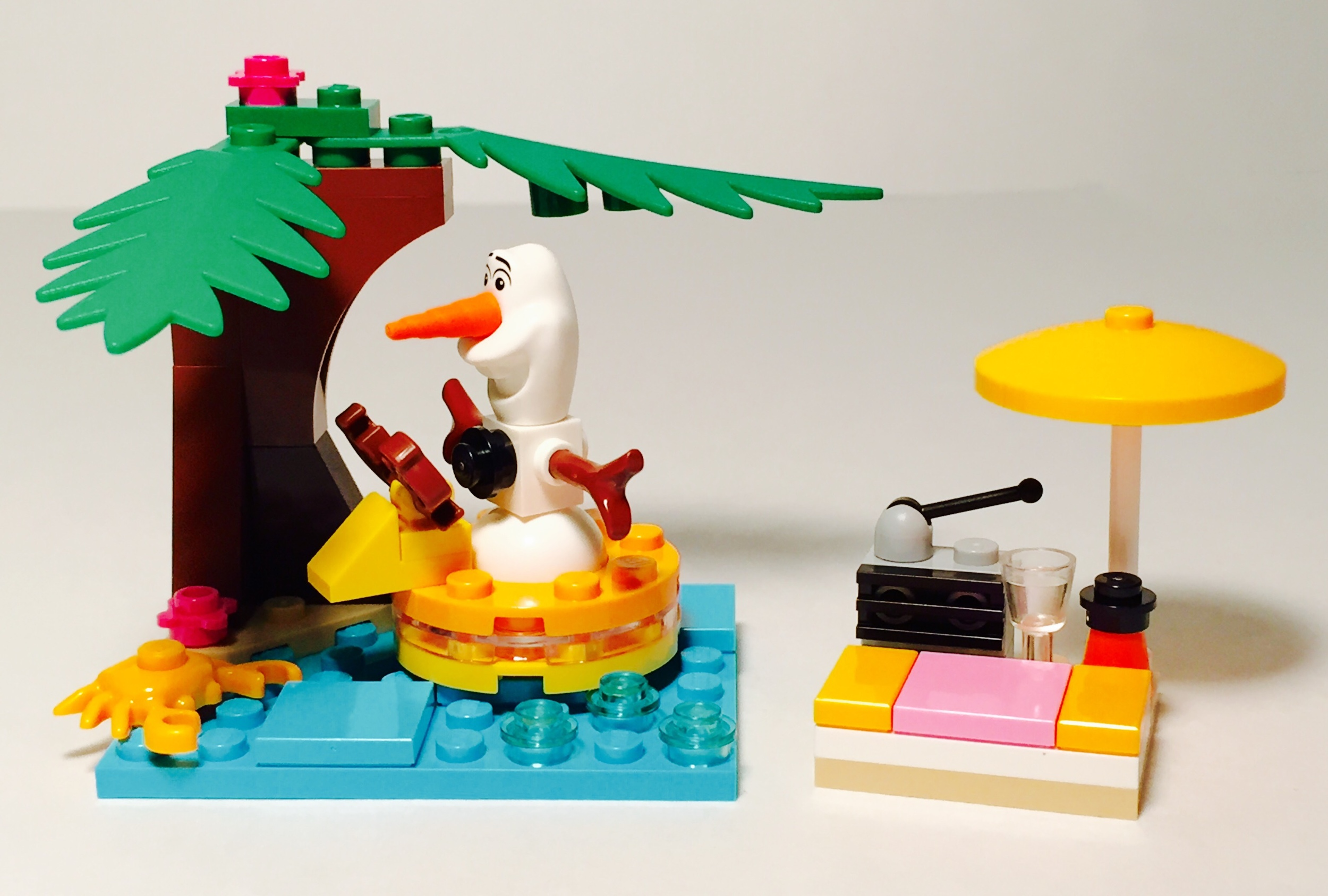 Review: Olaf's Summertime Fun [30397] — The Lego Brick Guy