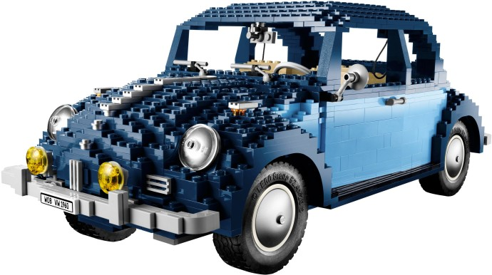 LEGO Volkswagen Beetle [10187] from 2008 ©2008 LEGO Group