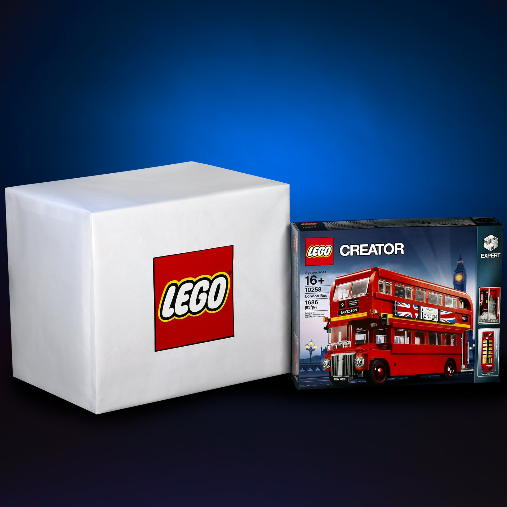Teaser #1 - The London Bus comes in a box that is over 20,000 cm³ but something BIGGER is coming... 4.86 times bigger, to be exact! -LEGO Group [August 15, 2017]