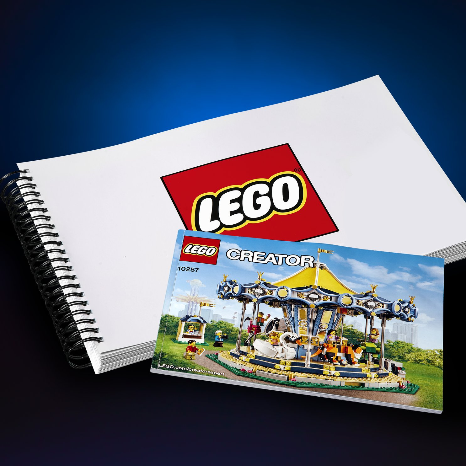 Teaser #2 - The instruction manual for the LEGO Carousel contains over 194 pages but something BIGGER is coming… 2.56 times bigger! -LEGO Group [August 8, 2017]