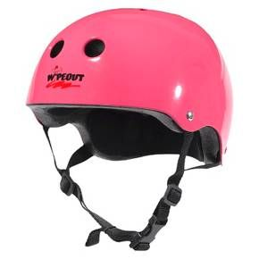 Wipeout Youth Helmet, Hot Pink $24.99