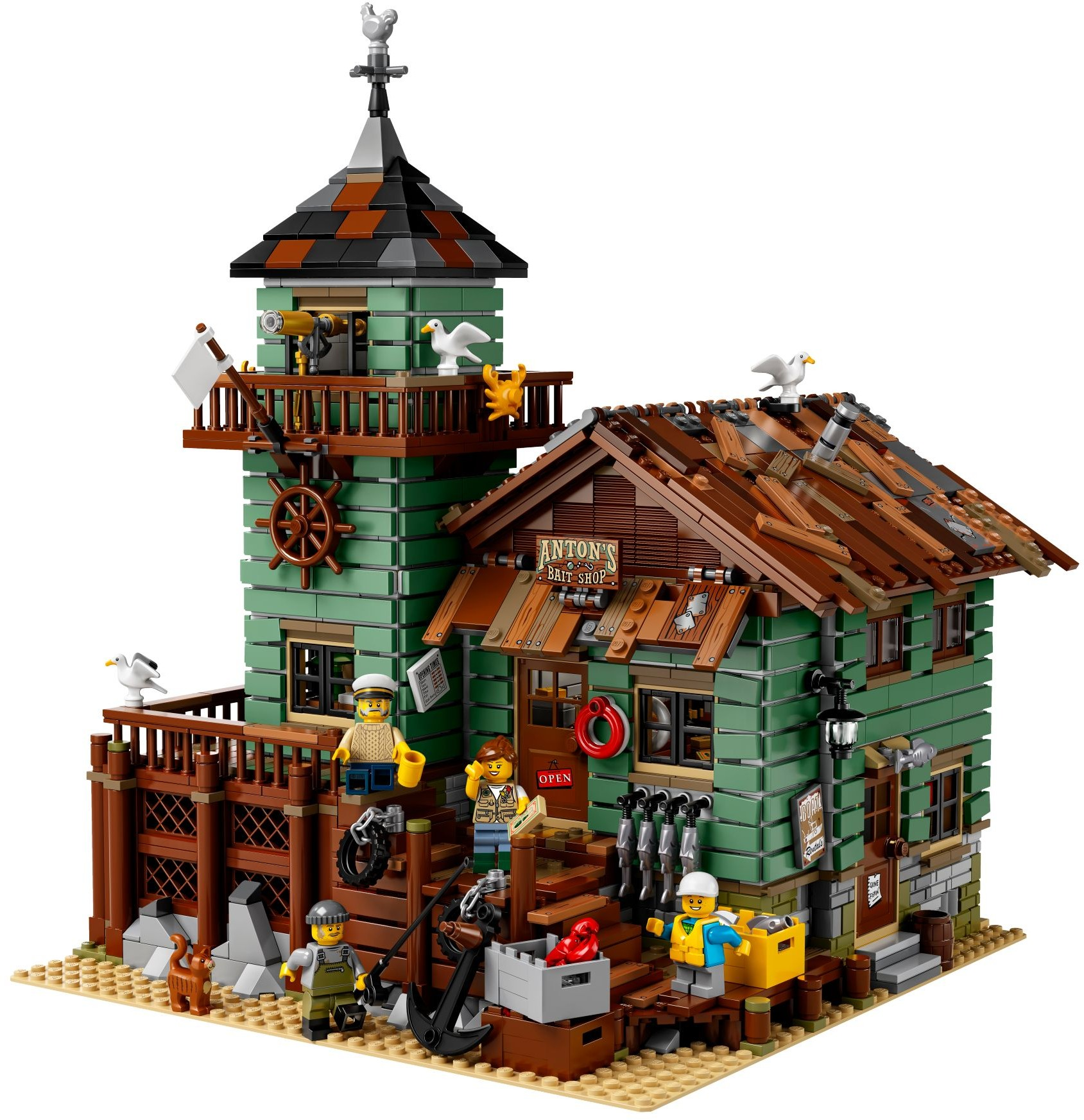 LEGO Ideas Old Fishing Store $149.99