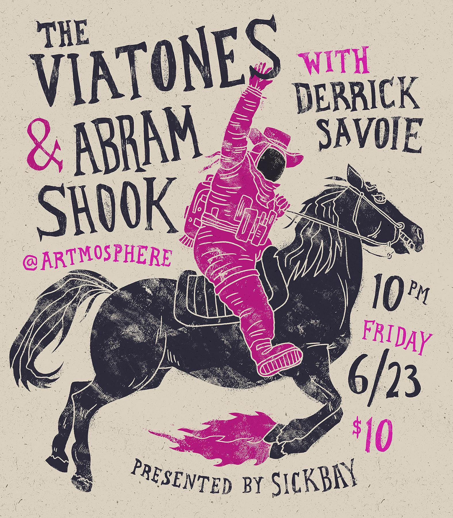 The Viatones & Abram Shook