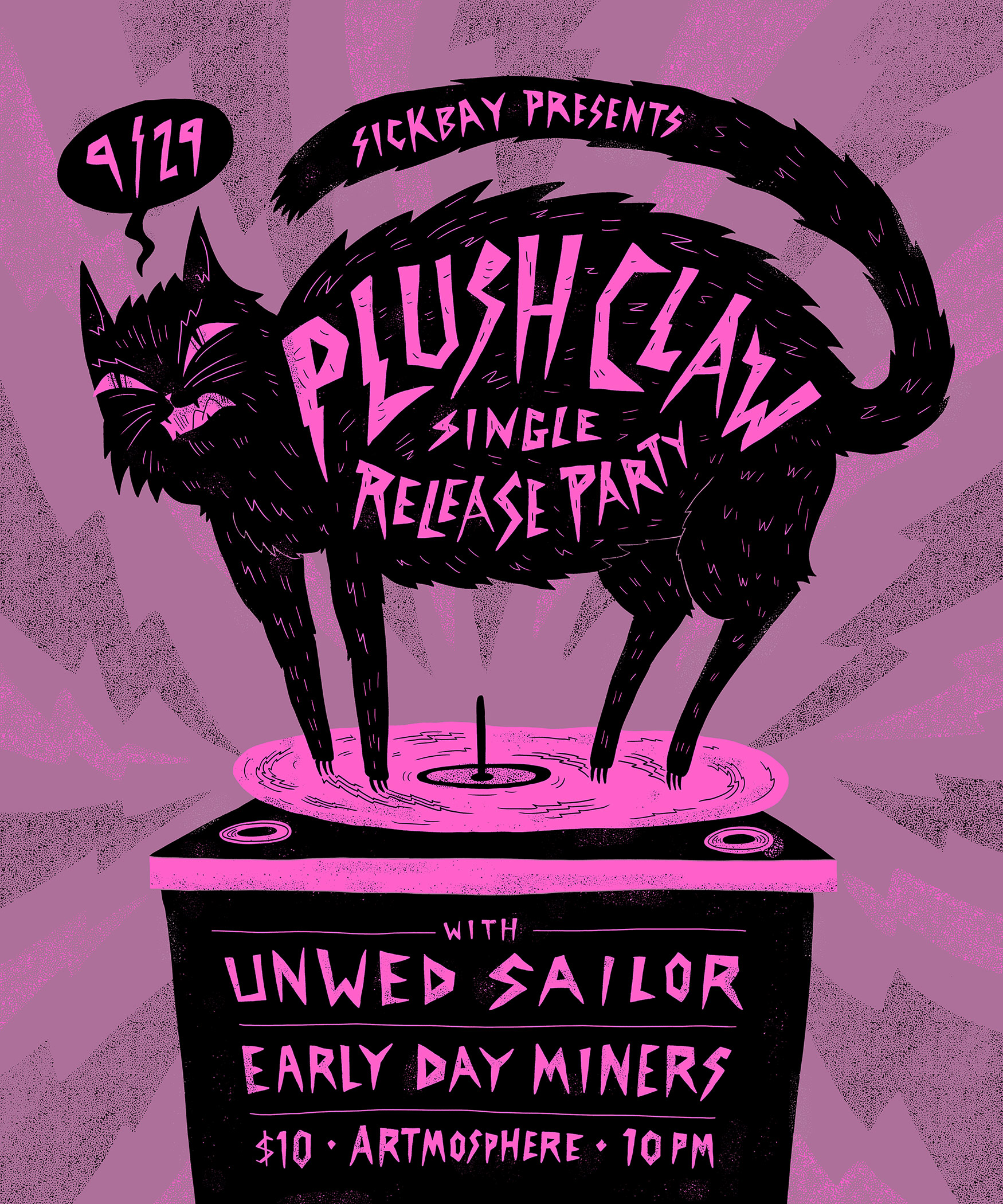 Plush Claw Single Release