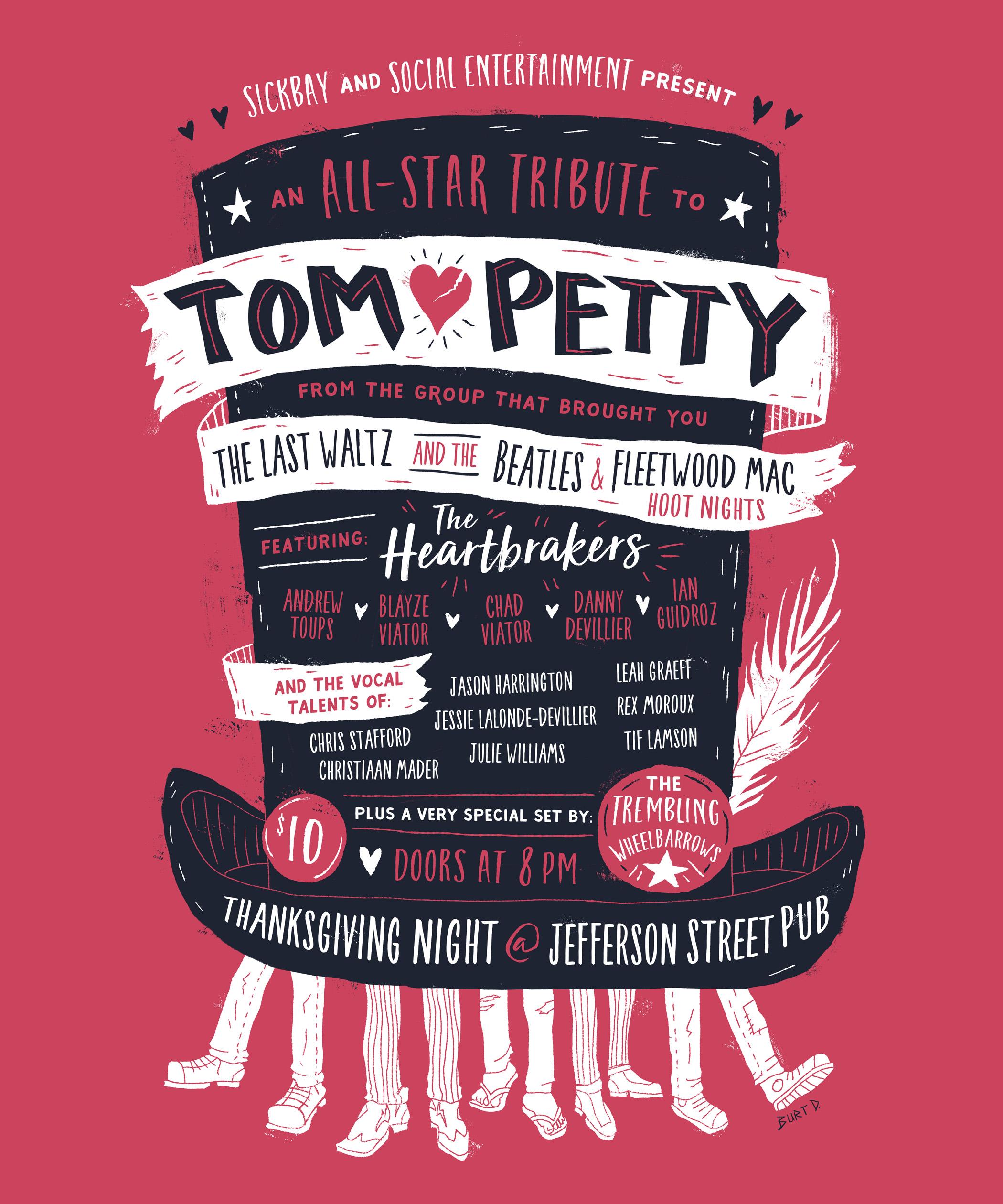 Tom Petty All-Star Tribute