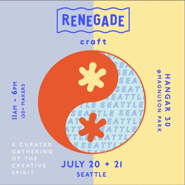Hey Seattle! We will be at the @RenegadeCraft fair July 20 + 21 in Magnuson Park! We will have several of our products for sale like our drink flights and serving trays!  Stay tuned to see all the goodies we will have at the fair! #seattlemade #lookforthewasher #getcrafty