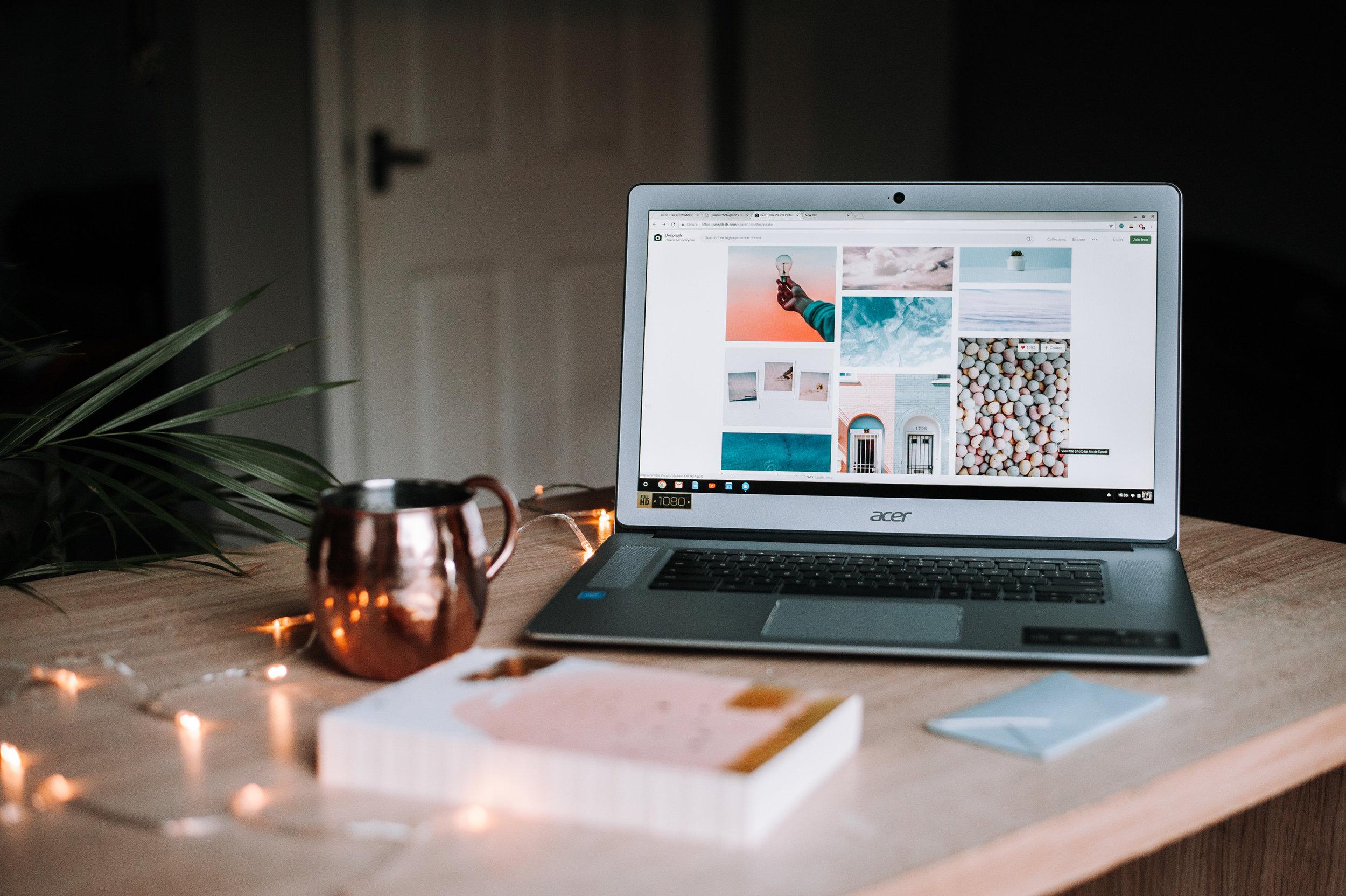 Blogging + Content Creation -