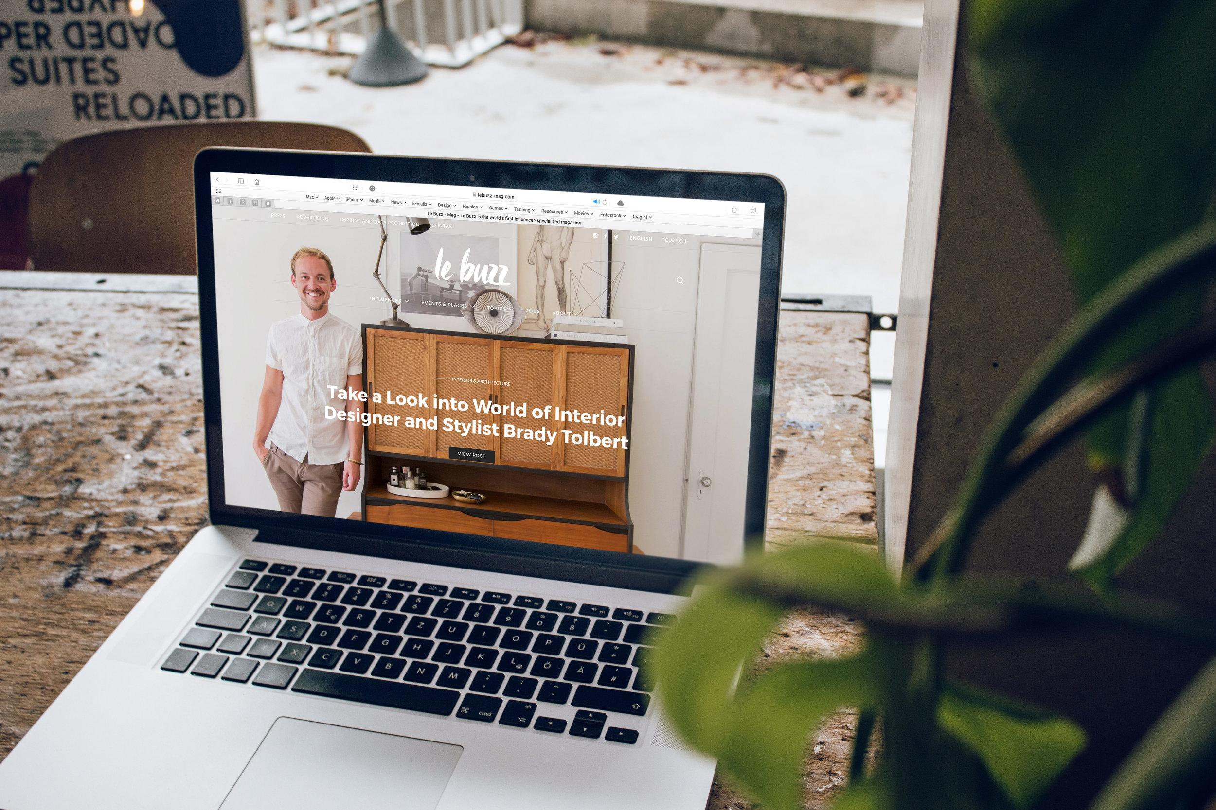 Website Design + Maintenance -