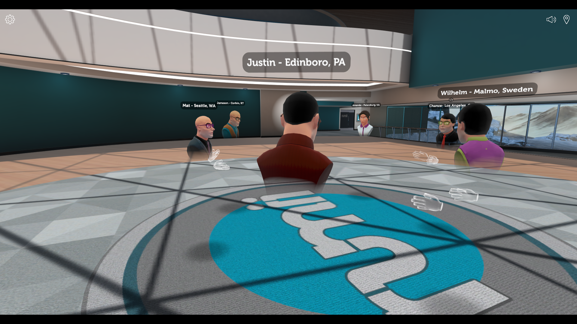 Meeting in VR saves time and travel costs so teams can focus on what's important.