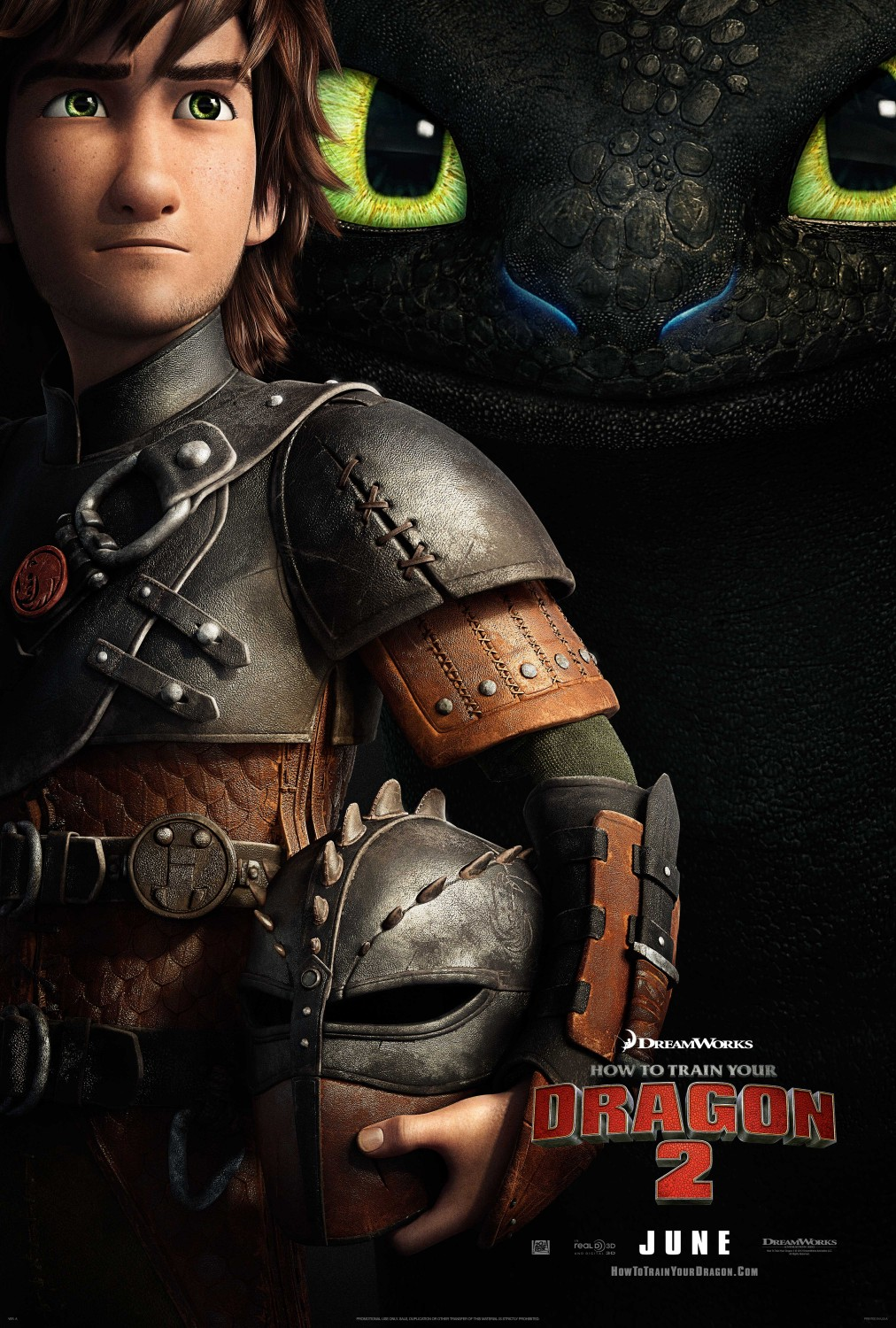 How to Train Your Dragon 2 : Animation Reel