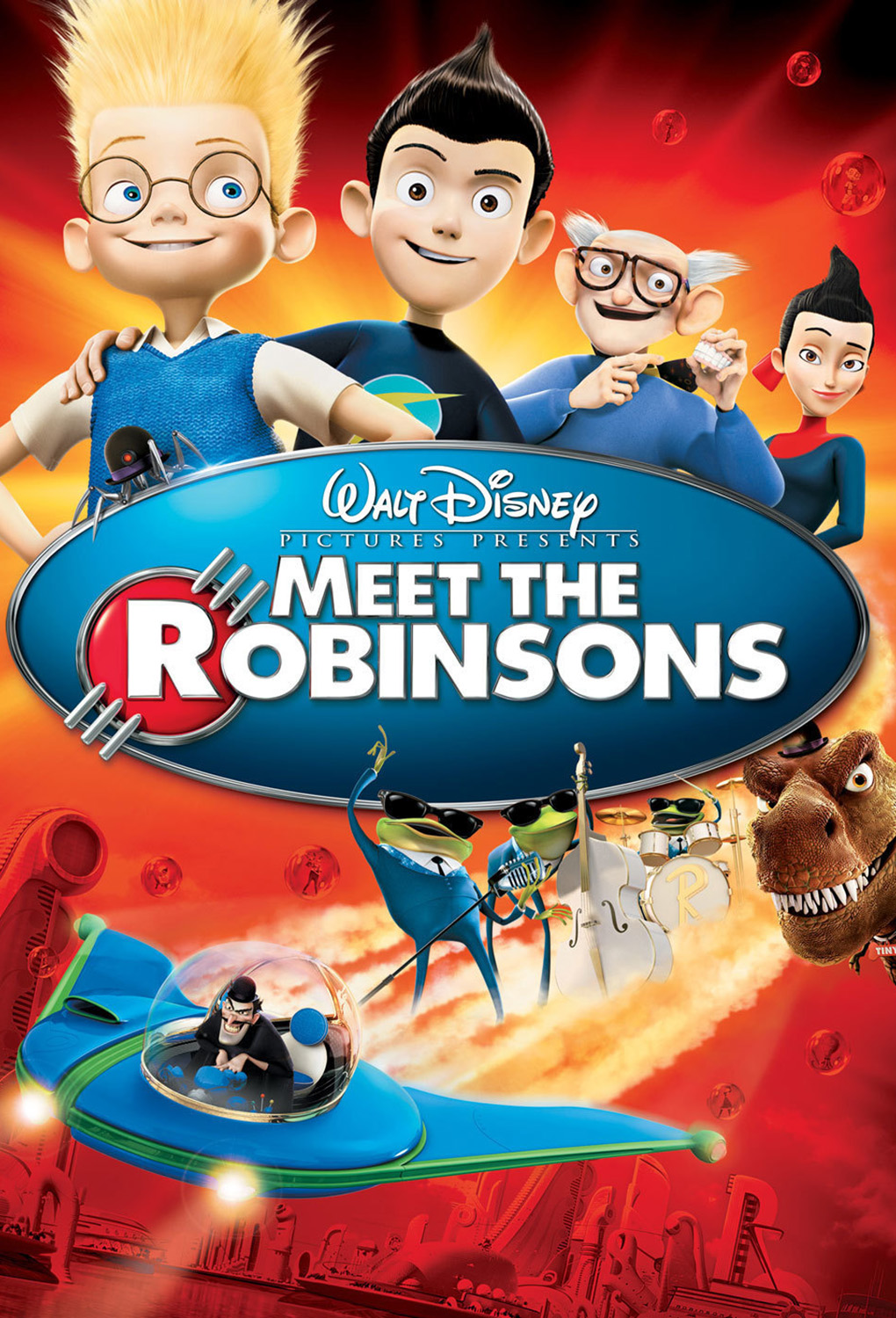 Meet the Robinsons : Modeling Work