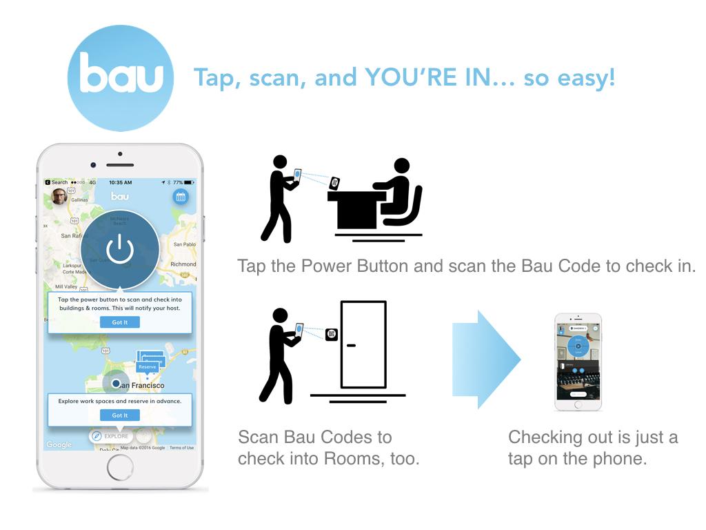 Bau Visitor scanning into host site.jpeg