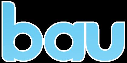 Bau Logo in primary blue