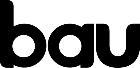 Bau Logo in black