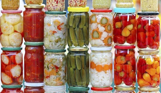 Fermented and also many pickled foods are great sources of probiotics.