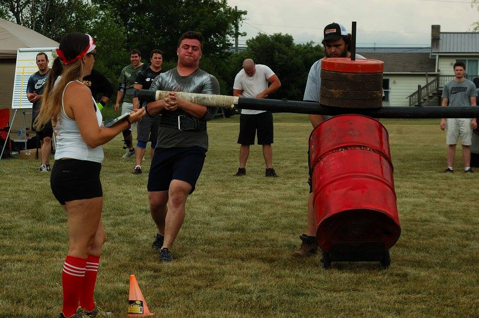 All athletes were extremely fast on all attempts with the Conan's wheel. Notice me anxiously creeping in the background...