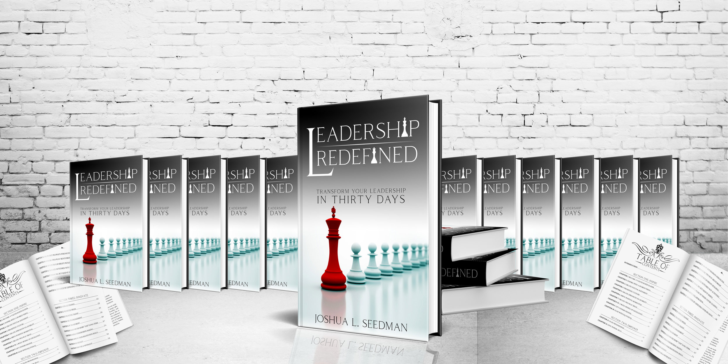 Leadership Redefined   Transform Your Leadership in 30 Days   Purchase Book
