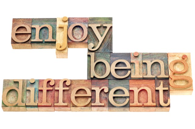 Enjoybeingdifferent