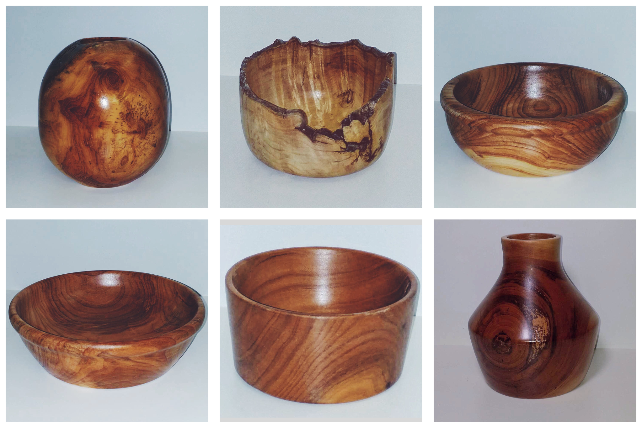 A selection of just a few of our handmade wooden accessories that will be available for purchase soon!