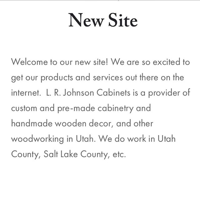 Did you know we launched a website with more information about our work? . . . #homeremodel #renovation #renovations #construction #cabinetry #woodworking #handmade