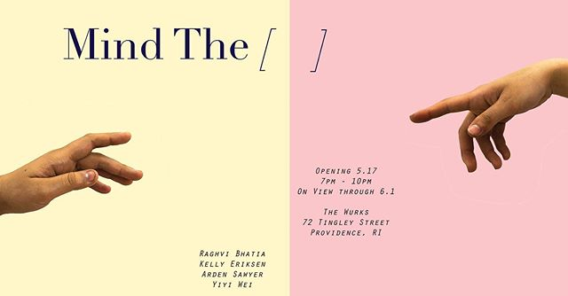 Come see what the seniors have been up to at their thesis show! On view until June 1st!