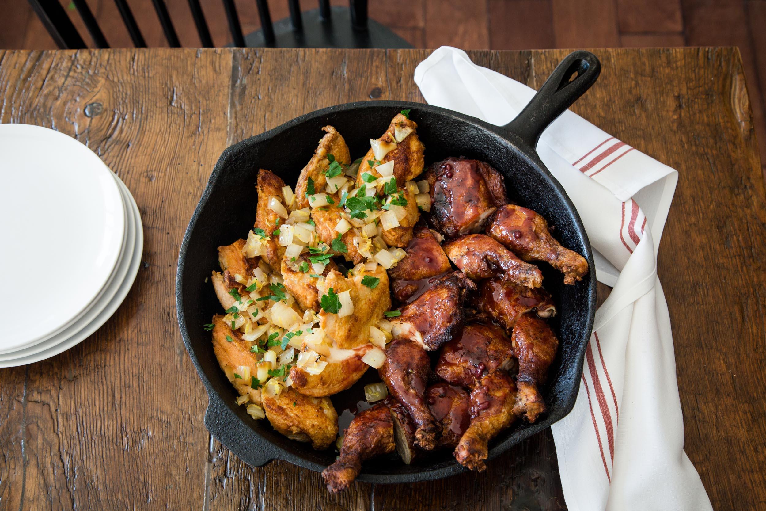 Chicken Two Ways