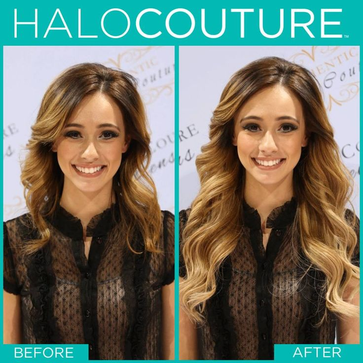 HaloCouture Hair Extensions  Longer, thicker, fuller hair in seconds! *No Damage *No Maintenance