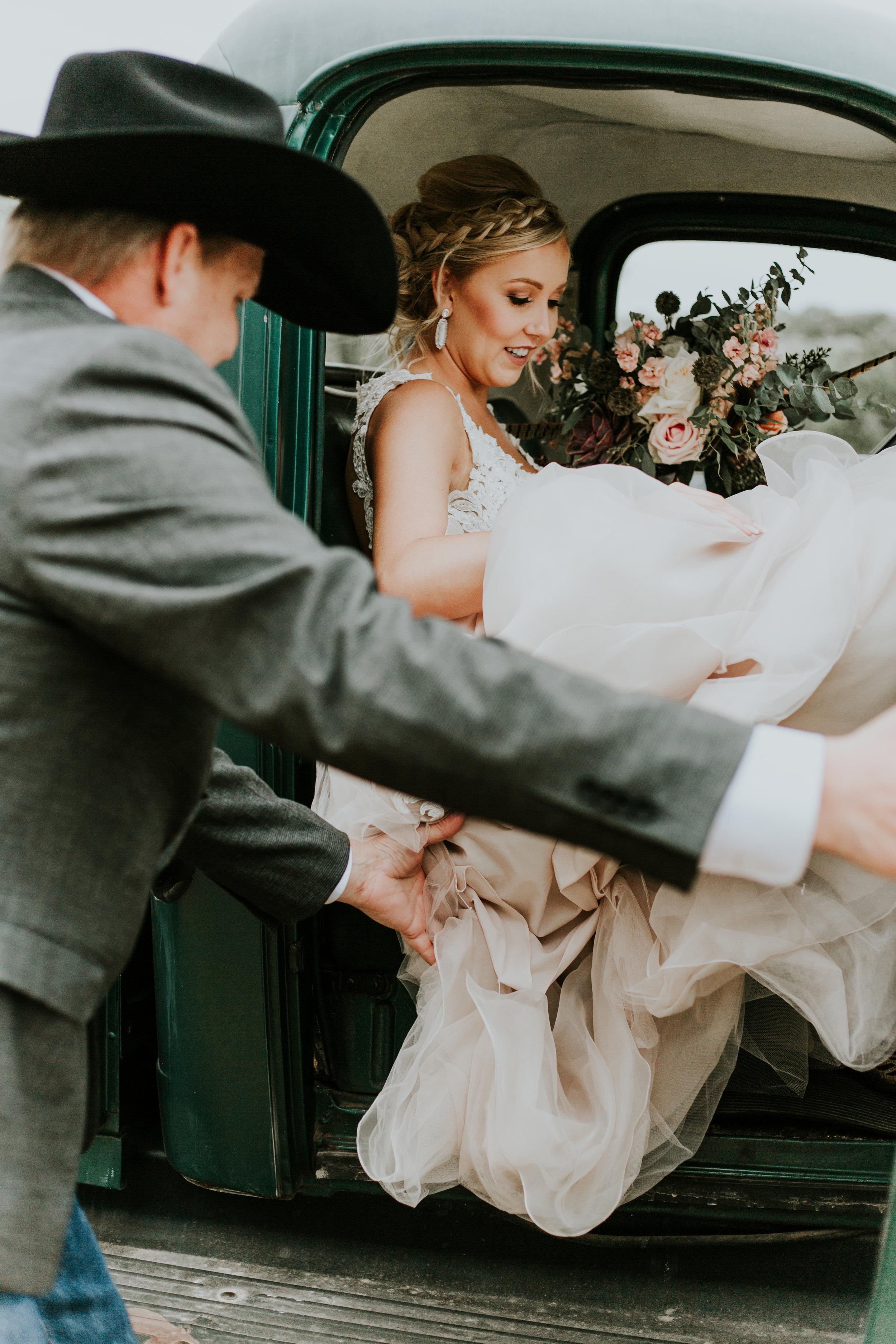 Taylor & Kaleb  ranch Wedding// outdoor boho ↠
