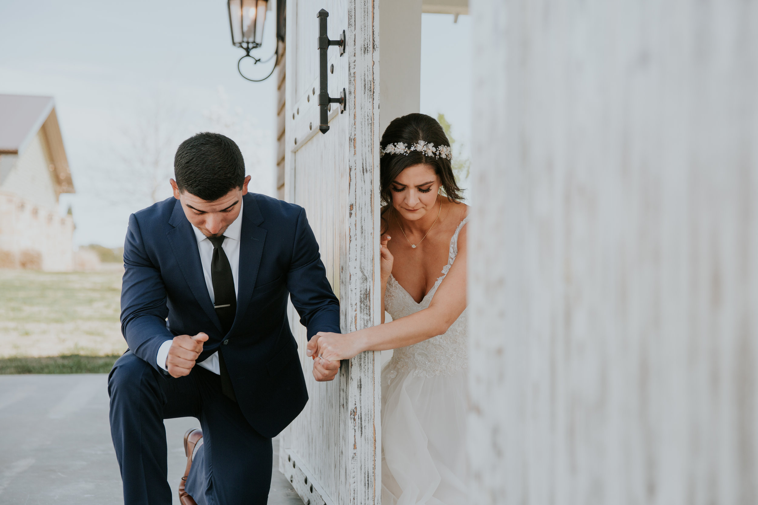 Ashlee + Mike  Featherstone Ranch // Tearful first touch ↠
