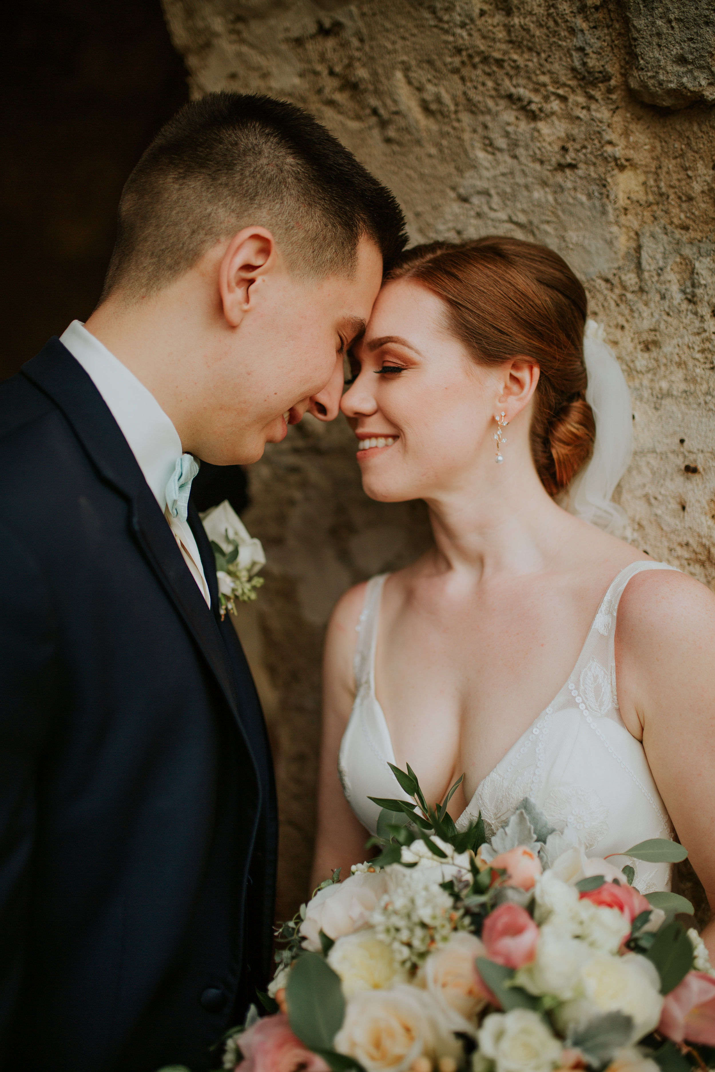 Jenna + Brandon  ↠  Mission concepcion  & Sunset Station Wedding