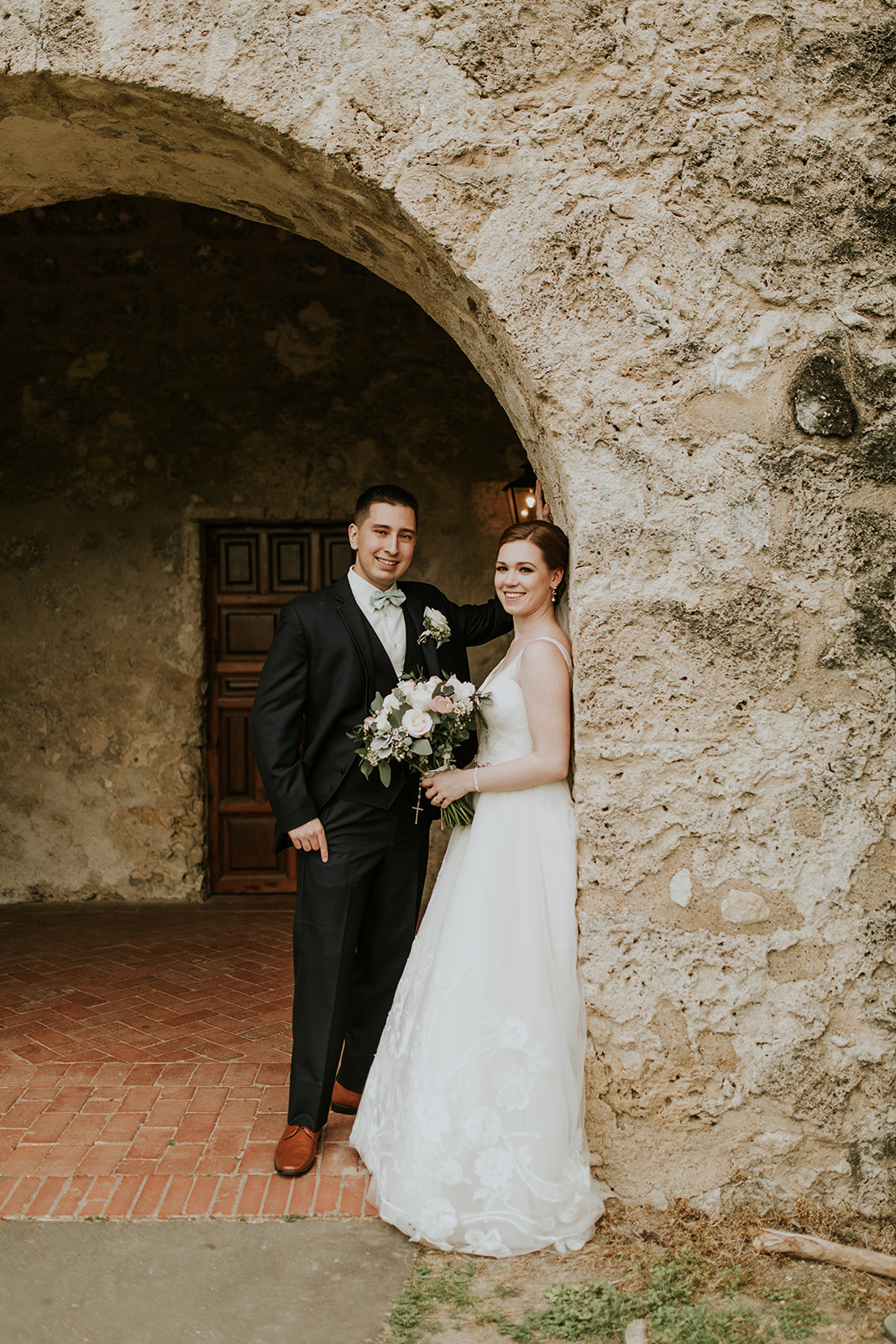 Jenna + Brandon  mission concepcion // sunset station wedding