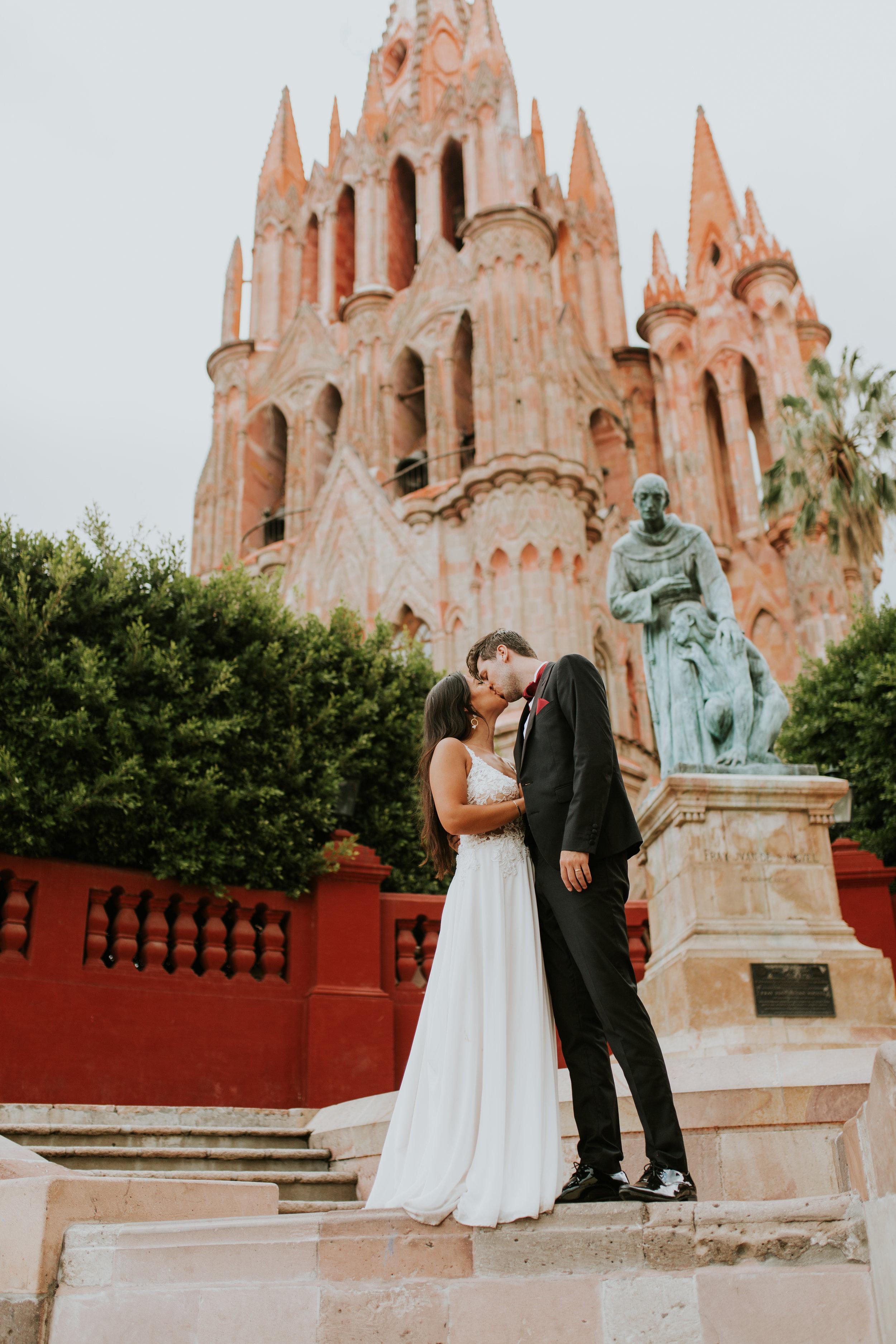 Sofia + Shane  ↠  Destination Wedding  San Miguel De Allende, Mexico