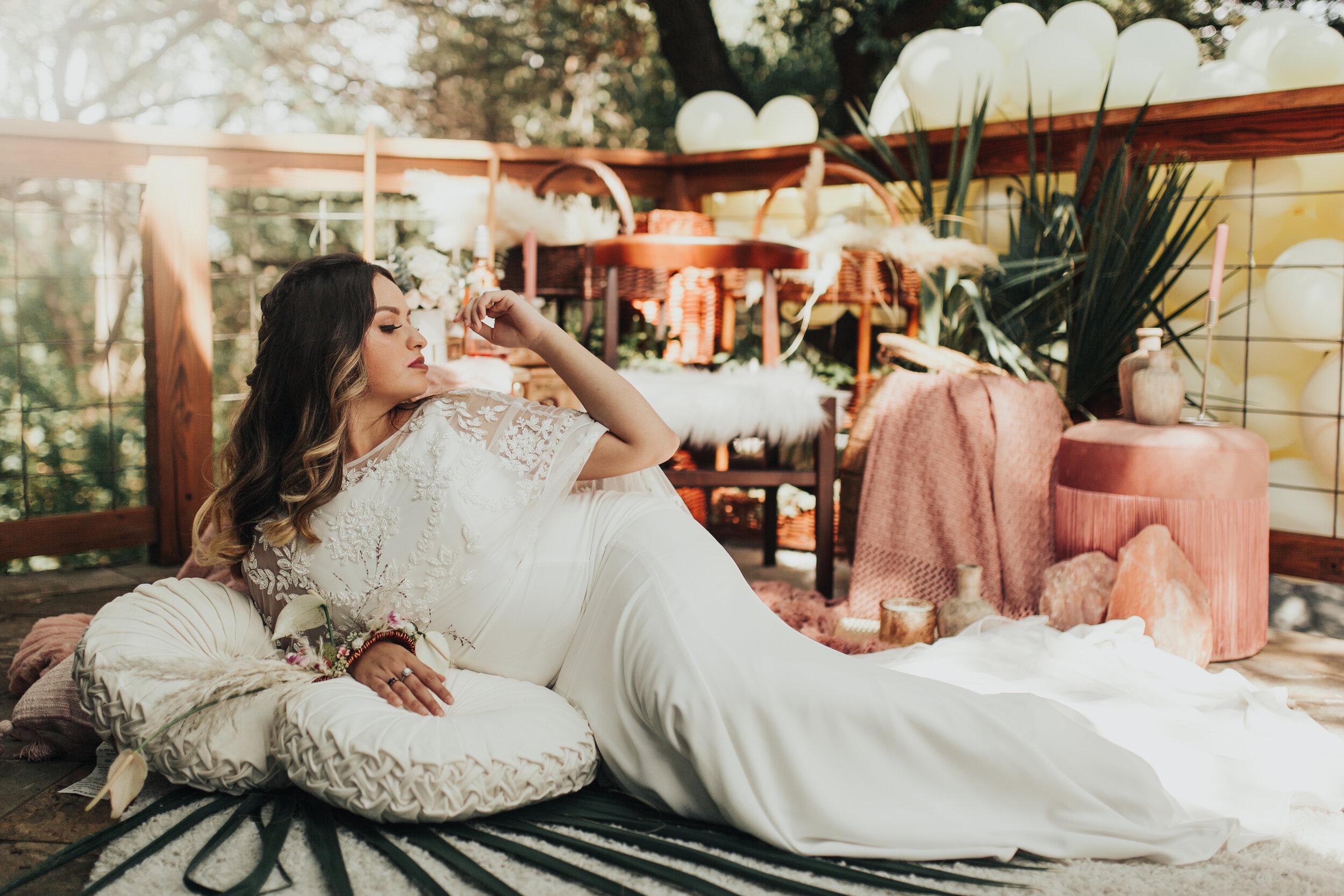 Boho wedding Inspiration Shoot  ↠  The Sanctuary Event Space