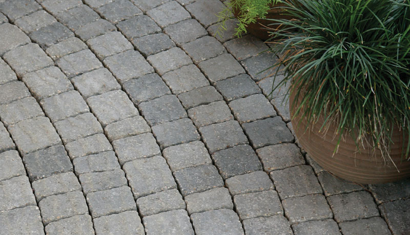 Typically rough and uneven edged finish. Gives the stone an old-world feel.  (as seen above)