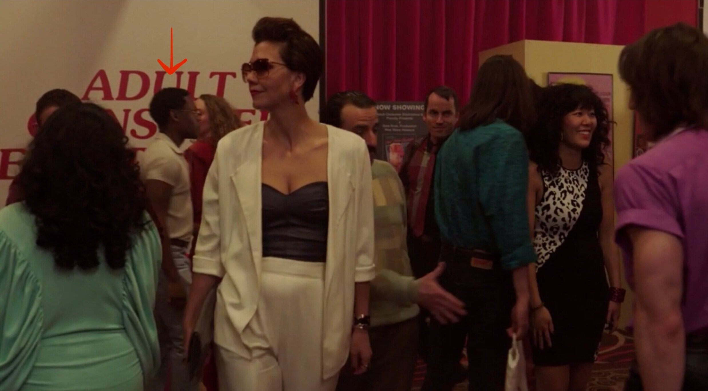 """Porn Conference Attendee on """"The Deuce"""" Source:  HBO"""