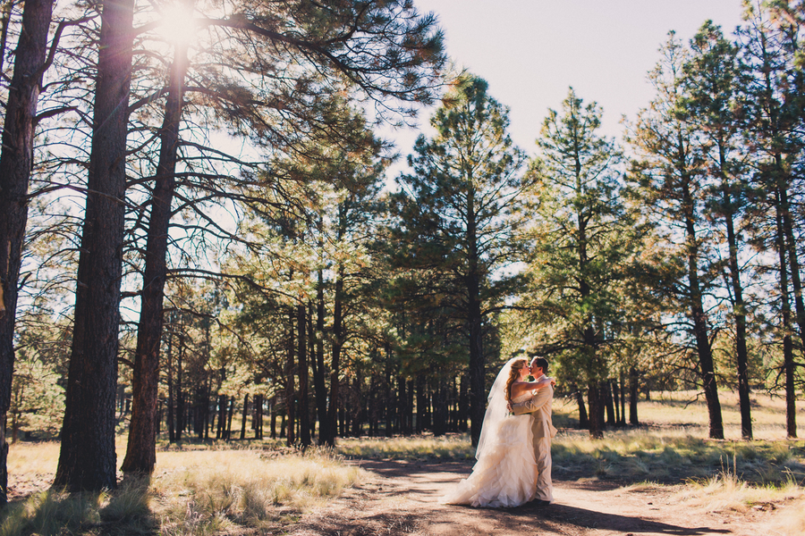 Flagstaff wedding nature